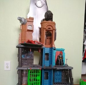 Batman imaginex towers large and small